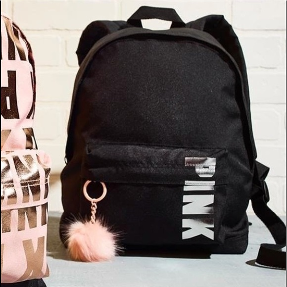 7d775473b3ef New Victoria s Secret PINK MINI BACKPACK Black